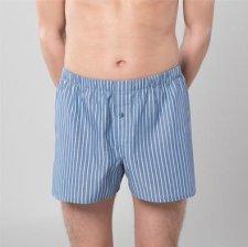 Classic woven boxer in organic cotton - 2 pc