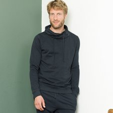 Man relax sweatshirt Dustin in organic cotton
