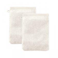Manopola da bagno in cotone biologico - 2 pezzi