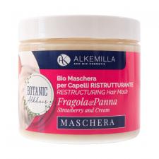 Maschera Capelli Ristrutturante Panna e Fragola - BioVegan Alkemilla