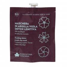 Maschera in Argilla Viola detox-lenitiva