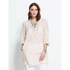 Camicia Lunga Cintia in cotone