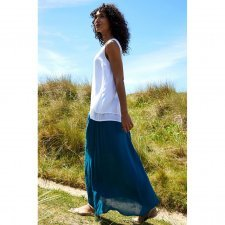 Maxi skirt in viscose