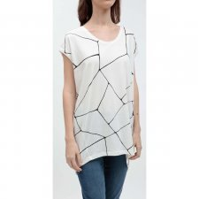 Maxi woman t-shirt Karup in organic cotton