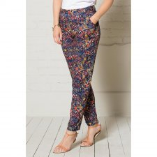 Meadow print trouser