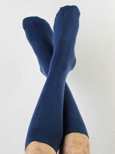 Medium socks blue in organic cotton Albero Natur