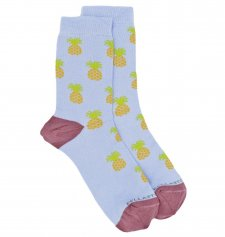 Medium Socks in Bamboo Pineapple