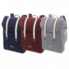 MELA V Backpack in Fairtrade Organic Cotton