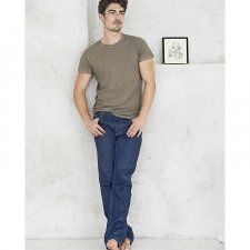 Men's Blue Denim Rinse Jeans in hemp and organic cotton