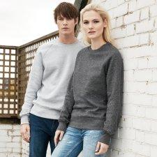 Men's raglan sweatshirt in organic cotton