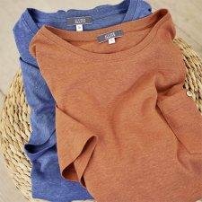 GORDON men's T-shirt with pocket in Hemp and Organic Cotton