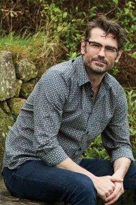 Men's Geo Check Long Sleeve Cotton Shirt