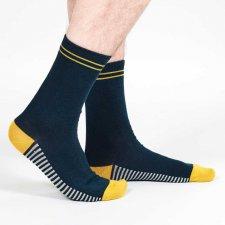 Men's Organic Cotton Classic Stripe Socks
