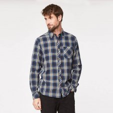 Toby check shirt in hemp