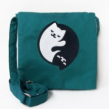 Messenger bag Kit & Yang in cotton Fairtrade