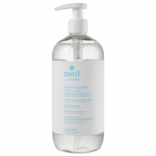 Micellar water for baby organic certified