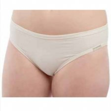 Mid rise woman brief in organic cotton