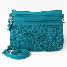 Mini shoulder bag in linen Origami Fairtrade