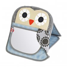 Mirror for baby - Grete grey owl