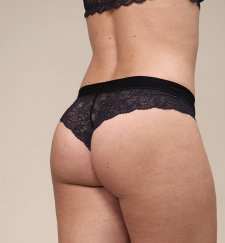 Modal® woman brazilian brief with lace