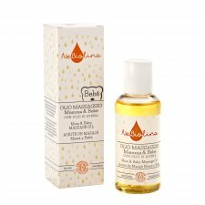 Mom and baby massage oil with Oat Oil