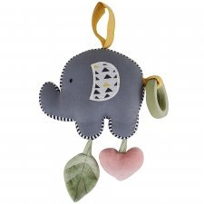 Multi-sensory game Elefant in organic cotton