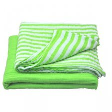 Muslin swaddle blanket in organic cotton - 2 pieces