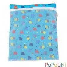 Nappy bag Popolini with double pockets