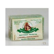 Natural exfoliating soap with organic Hemp Oil