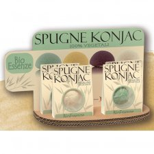 Konjac Sponges natural BioEssenze