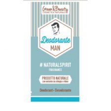 Natural deodorant for man Green&Beauty
