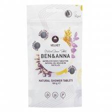 Natural shower tablets Velvet Ben & Anna