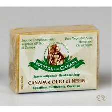 Natural soap with aloe and organic Hemp Oil