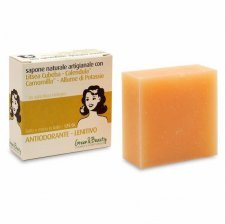 Cosmetic soap deodorant and soothing
