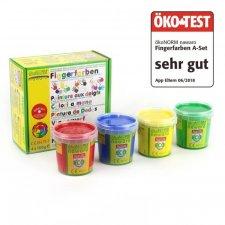 Nawaro finger paints - 4 jars SET A