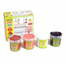 Nawaro finger paints - 4 jars SET B