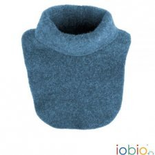 Neck scarf Popolini in organic wool fleece