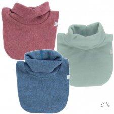 Neck warmer in organic cotton fleece Popolini