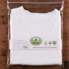 Newborn long sleeve shirt in organic cotton