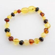 Baby amber bracelet Multicolor