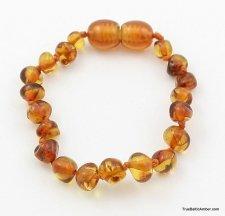 Newborn amber bracelet