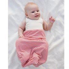 Newborn romper bag in light jersey