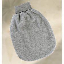 Romper pouches in organic merinos wool