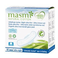 Pads in organic cotton Masmi - Night
