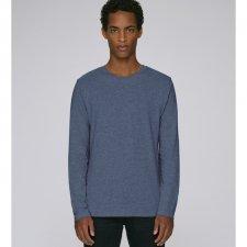 Round neck long sleeve tee-shirt