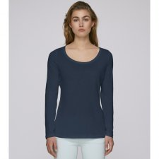 Long sleeve round neck tee-shirt