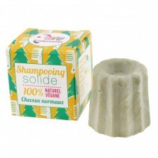 Solid shampoo for normal hair with Scots pine