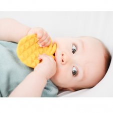 Pineapple teether Lanco in natural rubber