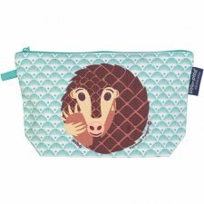 Toilet bag Mibo Pangolin in organic cotton