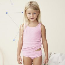 Girls briefs in organic cotton